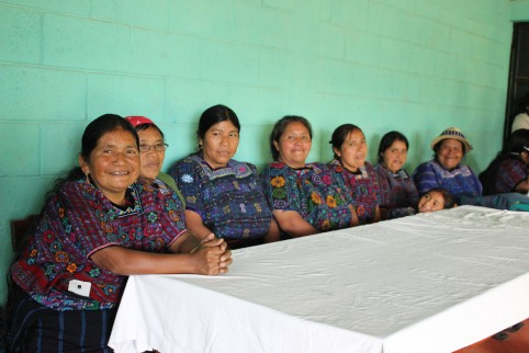 The leaders of the volunteer midwives in the Todos Santos community