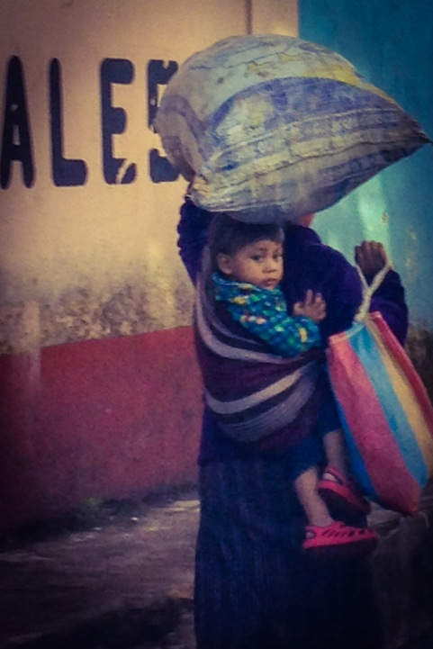 Mothers in Guatemala have a huge workload in addition to taking care of their children